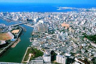 Full of culture and attractive Naha city